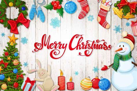 merry christmas vector illustrations