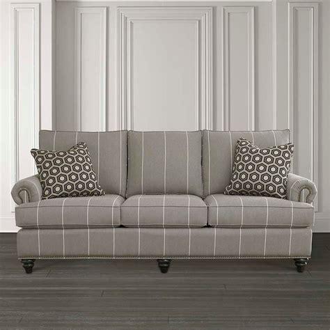 bassett custom sofa hgtv home custom upholstery medium sofa by bassett