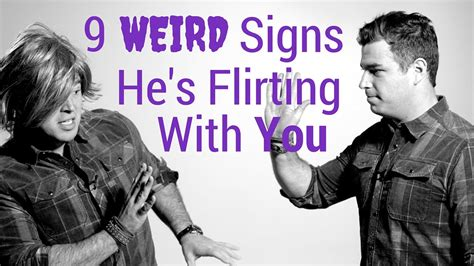 7 Signs Youre Dating Him For His Looks by 9 Signs A Is Flirting With You