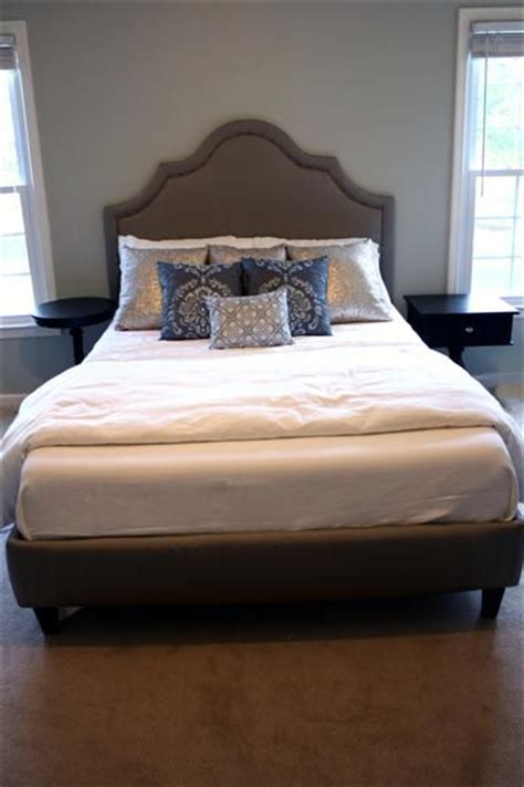 diy headboard tutorial complete diy upholstered bed tutorial with full plans and