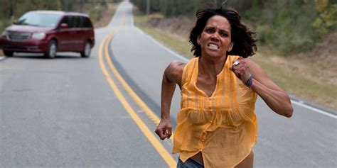 Halle Berry Warms Up by Halle Berry Takes The Wheel In New Trailer Den Of