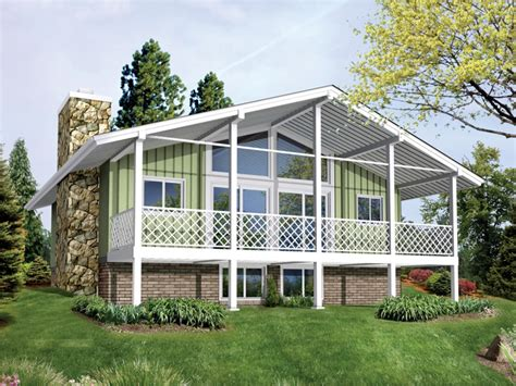 vacation home plans waterfront vacation cabin house plan lakefront cabin plans vacation