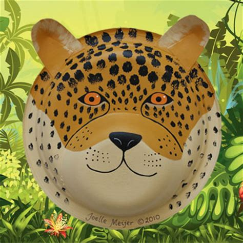 how to make a jaguar mask cheetah jaguar and leopard mask craft tutorial