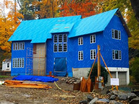 big blue house big blue house utilizes latest in home building technology greenwichtime