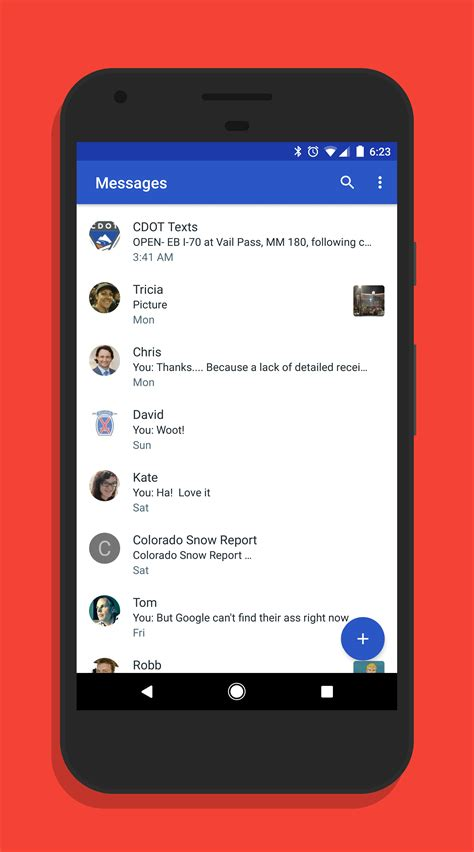 messaging android android messages update improves messaging clintonfitch