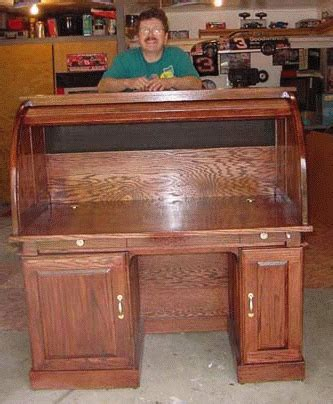 large roll top desk plans  woodworking