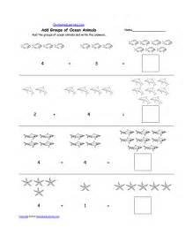 Animal math worksheets at enchantedlearning com