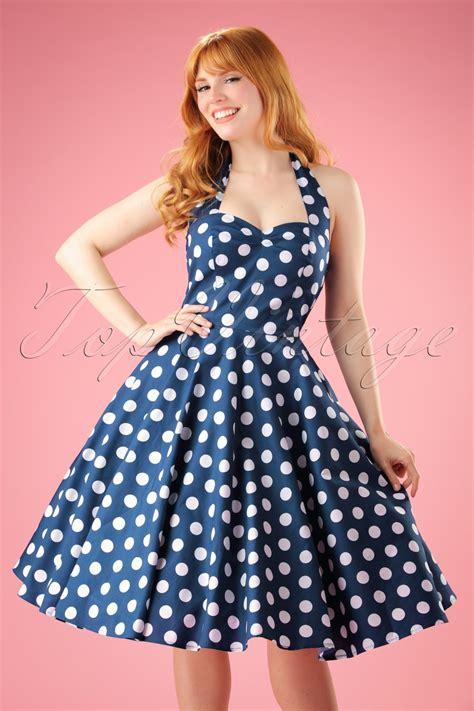Dress Polka Dress By Hijabinc vintage polka dot dresses 50s spotty and ditsy prints