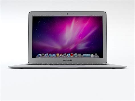 Macbook Air Replika apple macbook air 2010 3d model