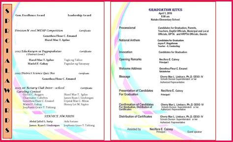 Graduation Program Template Sop Exles Program Template