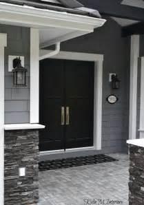 Faux Garage Door Painting - outside colors for homes joy studio design gallery best design