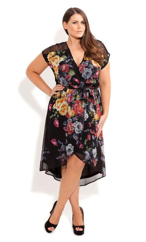 Dress Wanita Sleeve Chiffon Vintage Dress Birumr483 oasap floral dresses the shape s fashion and plus