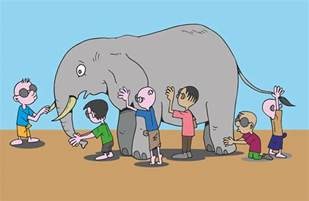 Blind Man And The Elephant Story Free Vector Graphic Blind Men Elephant Story Feel