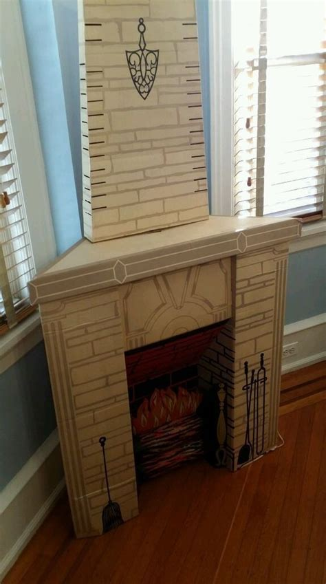 Fireplace Cardboard by The 25 Best Cardboard Fireplace Ideas On