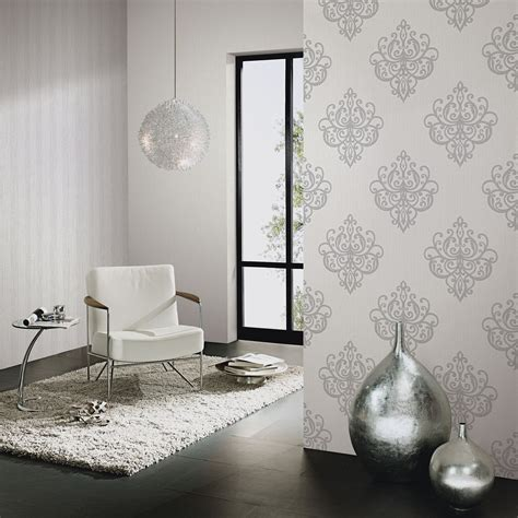 glitter wallpaper feature wall p s opal damask wallpaper carat glitter wallpaper feature