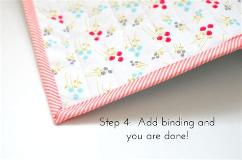 Bias Binding For Quilts by Step 4