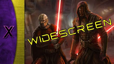 tutorial old republic knights of the old republic kotor widescreen hack