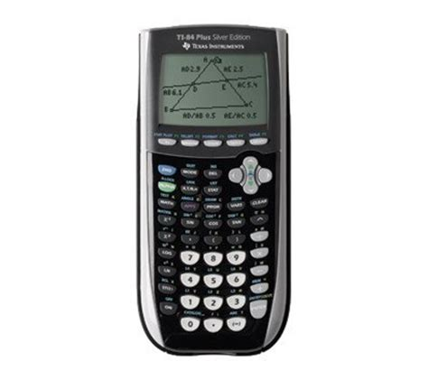 black ti 84 plus graphing calculator texas instruments inc ti 84 plus silver edition pink