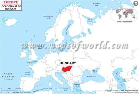 world map of hungary map of hungary republic of hungary maps mapsof net