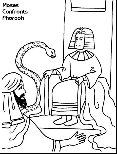 coloring pages moses killing egyptian moses kills egyptian page coloring pages