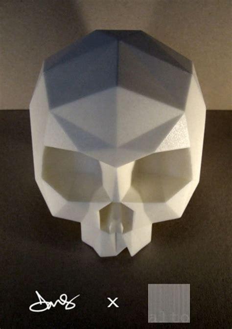 Origami Skull - alto x dms skelevx clutter magazine