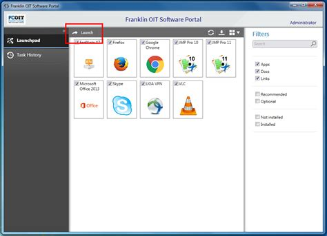best portal software how to use the landesk software portal franklin oit self