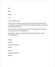 Letters Of Recommendation Templates by Sle Letter Of Recommendation 20 Free Documents