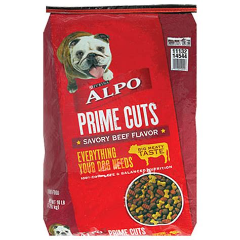alpo food alpo 174 prime cuts 174 food 16 lb big lots