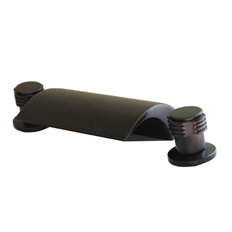 Floor Mount Tub Faucet Rubbed Bronze by Kokols 2 Handle Mount Location Deck Mount Tub Faucet
