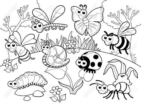 garden creatures coloring pages resultado de imagen de fichas de insectos para relacionar