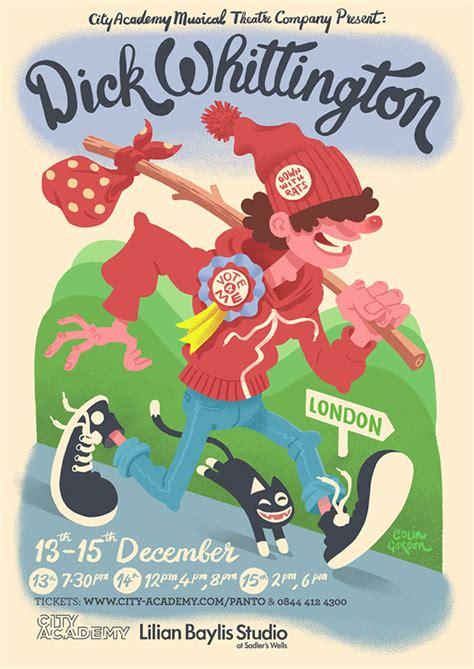 poster design jobs london dick whittington poster on behance