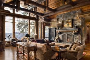 Rustic Home Interior Ideas by Rustic Interior Design Dwell Candy