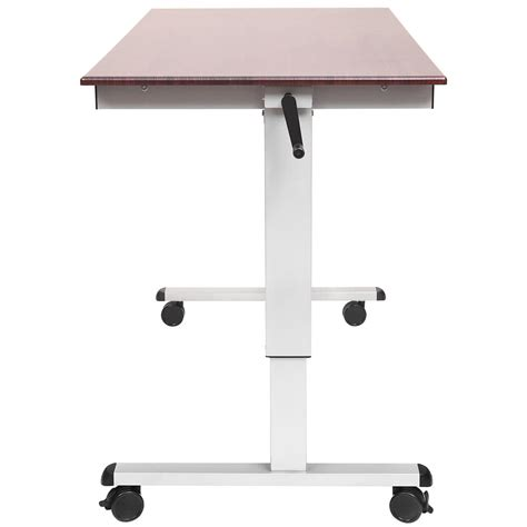 standup desk luxor h wilson standup cf60 dw stand up desk 60 quot