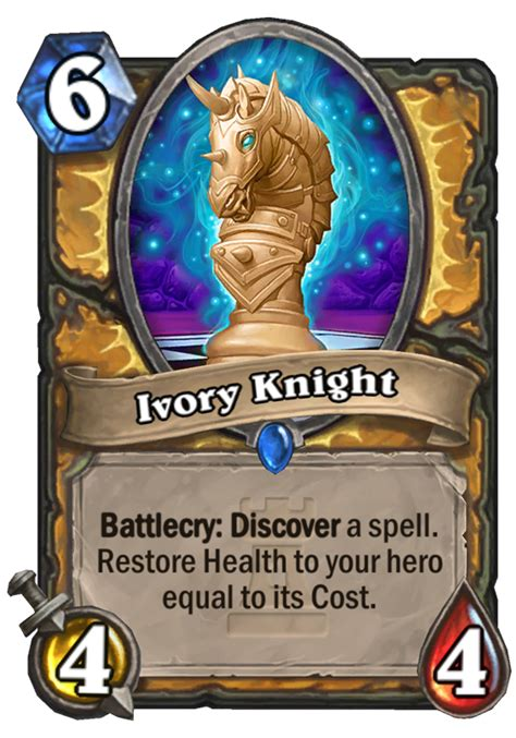 ivory knight hearthstone card