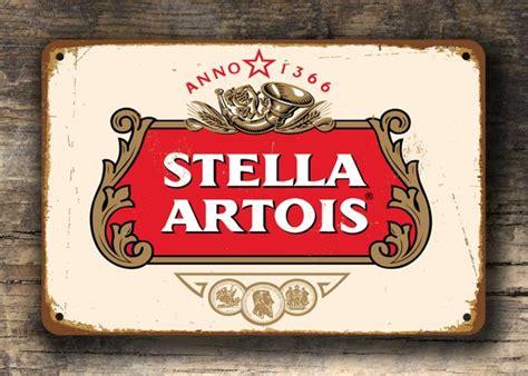 stella artois sign stella beer sign classic metal signs