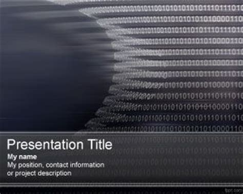 Bioinformatics Template bioinformatics powerpoint template