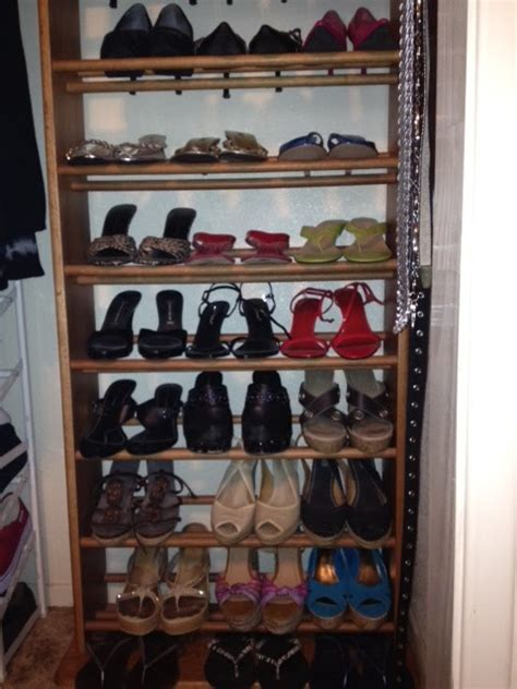 sew shoe rack garage sale find