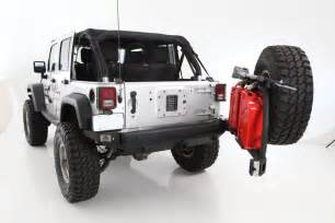 Jeep Wrangler Tire Carrier Sb76896 Smittybilt Rear Steel Bumper Atlas Jeep Wrangler Jk