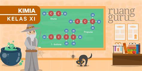 kimia kelas  pengertian sifat  manfaat alkuna