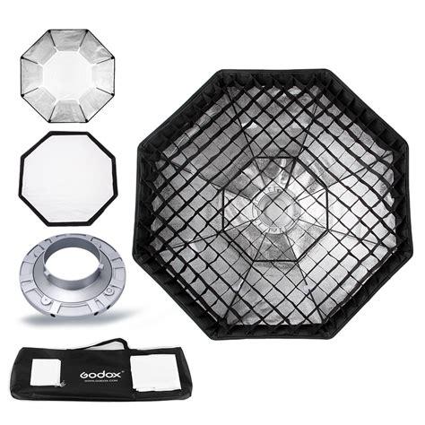 Godox Softbox Size 95cm Bowens Mount Speedring Studio godox pro studio octagon softbox 95cm 37 quot honeycomb grid reflector softbox with bowens mount for
