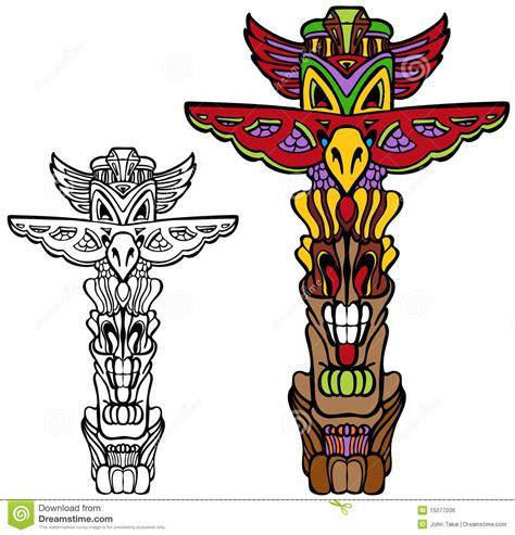imagenes de totems aztecas totem pole royalty free stock image image 15077036