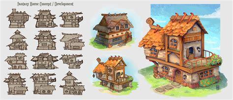 fantasy houses artstation fantasy house concepts hannah spikings