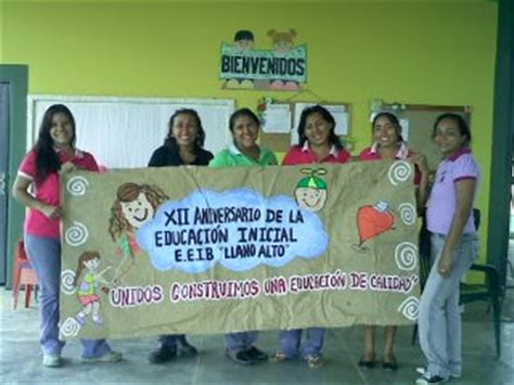 pancartas sobre la semana de la educacion inicial cajitas de sue 209 os pancarta de la semana de la educacion
