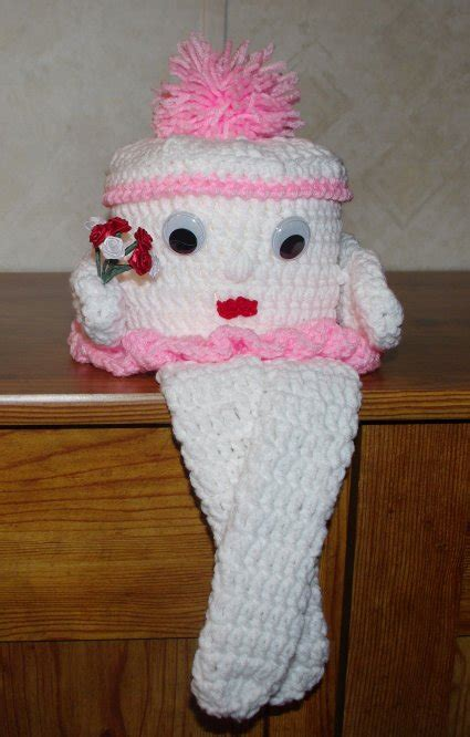 pattern crochet toilet paper cover crochet toilet paper roll cover