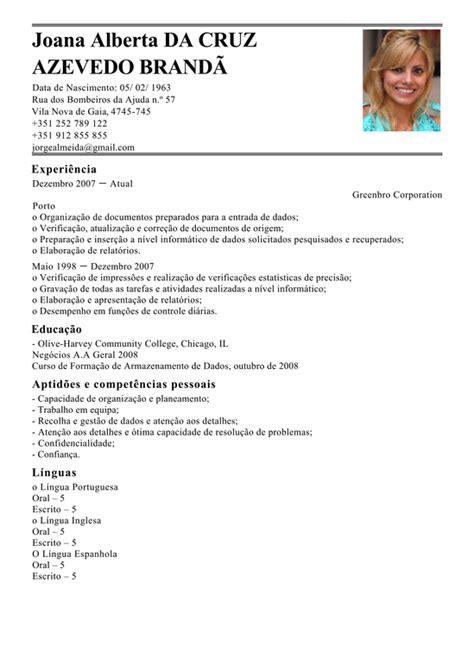 Modelo Curriculum Tecnico Informatico Modelo De Curriculum T 233 Cnico De Inser 231 227 O De Dados Exemplo De Cv Entrada Dos Dados Livecareer