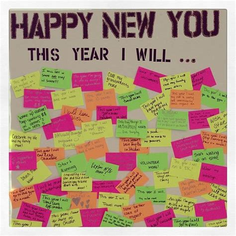 new year board resolutions bulletin boards and new year s on