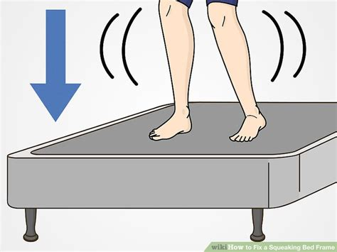 how to stop a bed frame from squeaking how to fix a squeaking bed frame with pictures wikihow