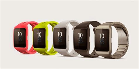 Sony Smartwatch 3 with stainless steel band and Roxy SmartBand announced at CES ? Load the Game