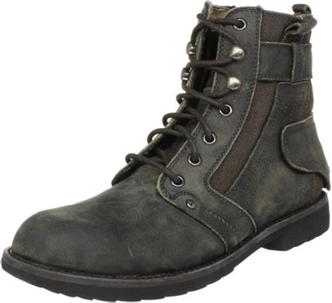 bed stu boots mens bed stu bedstu mens system boot in black for men lyst