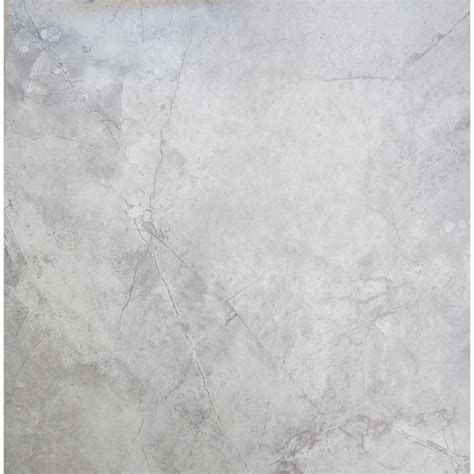 shop chilo gray ceramic floor tile common 18 in x 18 in